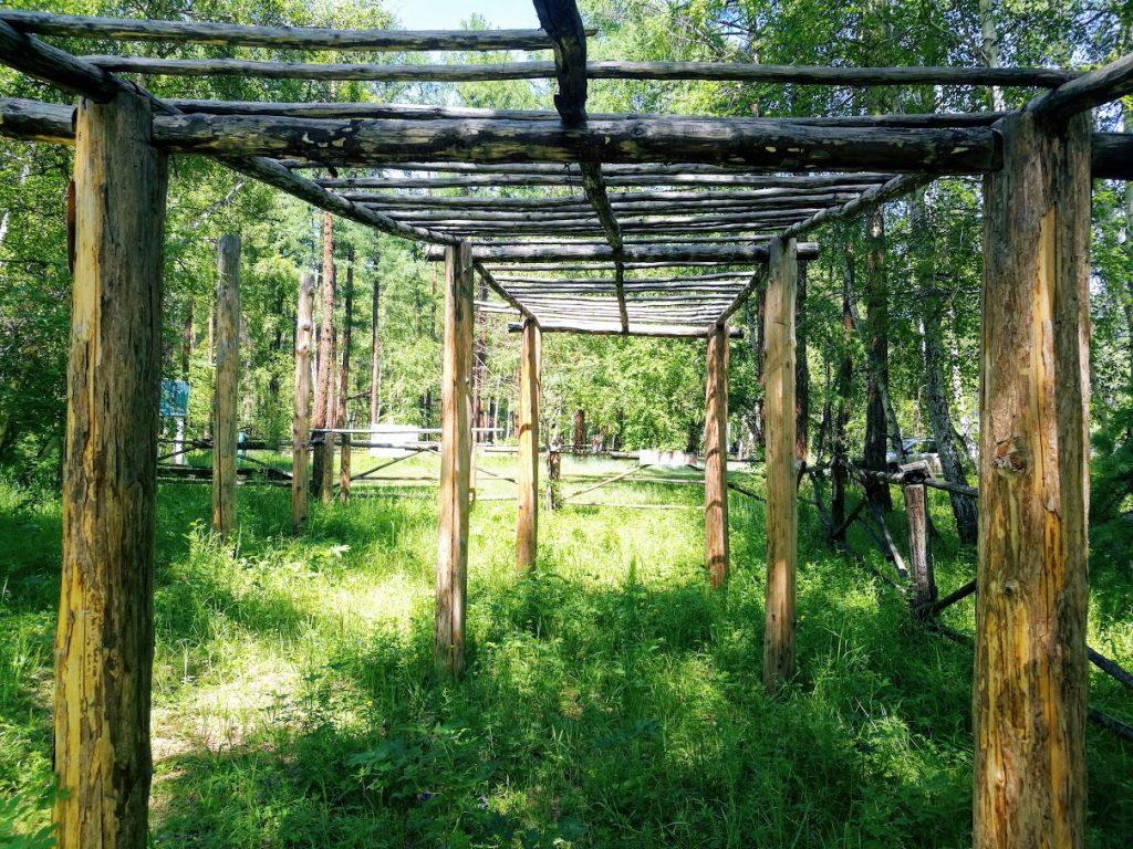 Колина поляна в Мухоршибирском районе Республики Бурятия