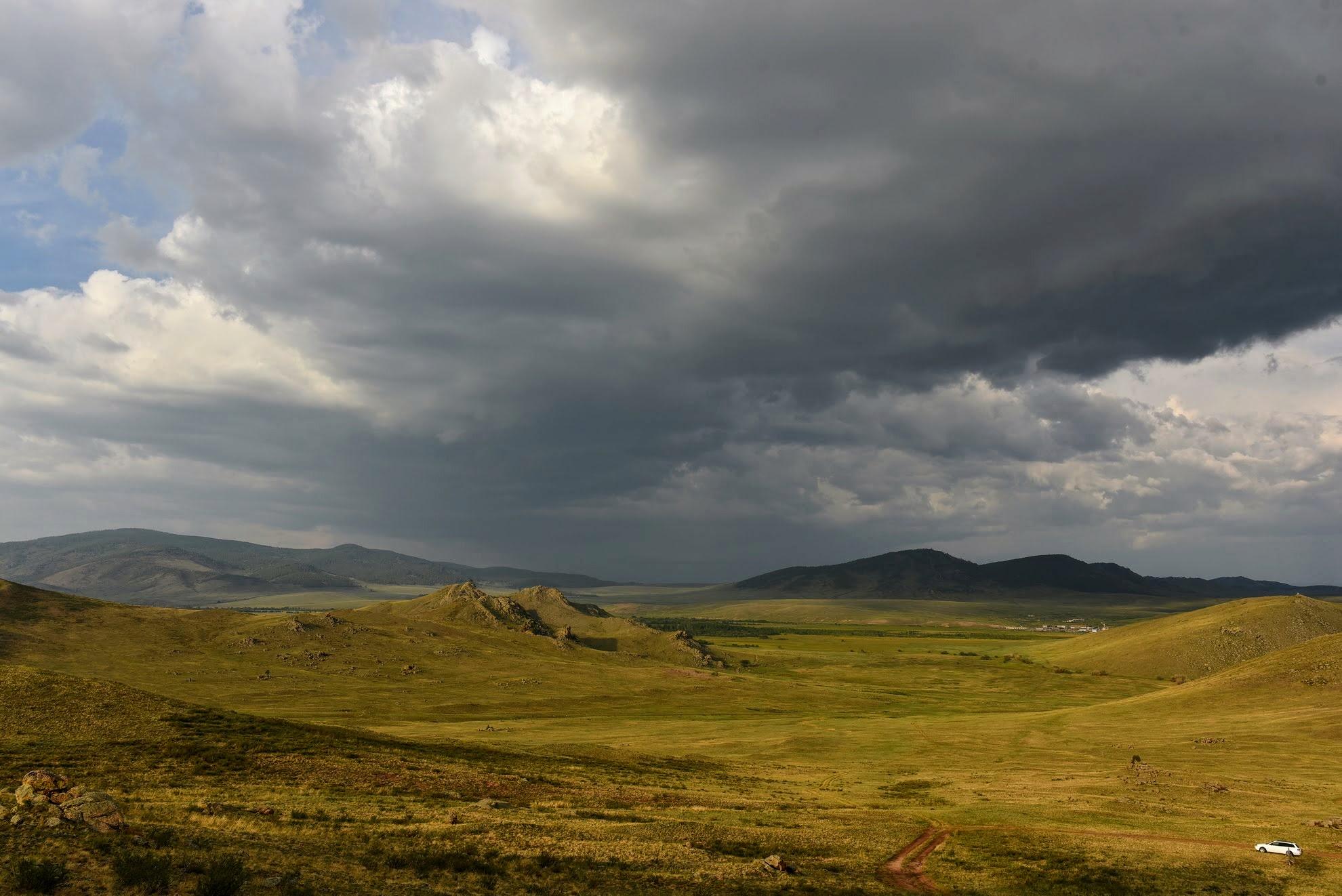 Тугнуйская долина. Вид с Пяти пальцев