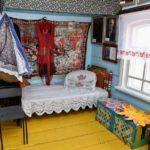 Музей-усадьба Исая Калашникова. Кровать