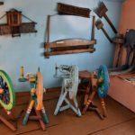 Музей-усадьба Исая Калашникова. Прялки и другие инструменты