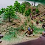 Музей-усадьба Исая Калашникова. Диорама «Бой у Меркитской крепости»