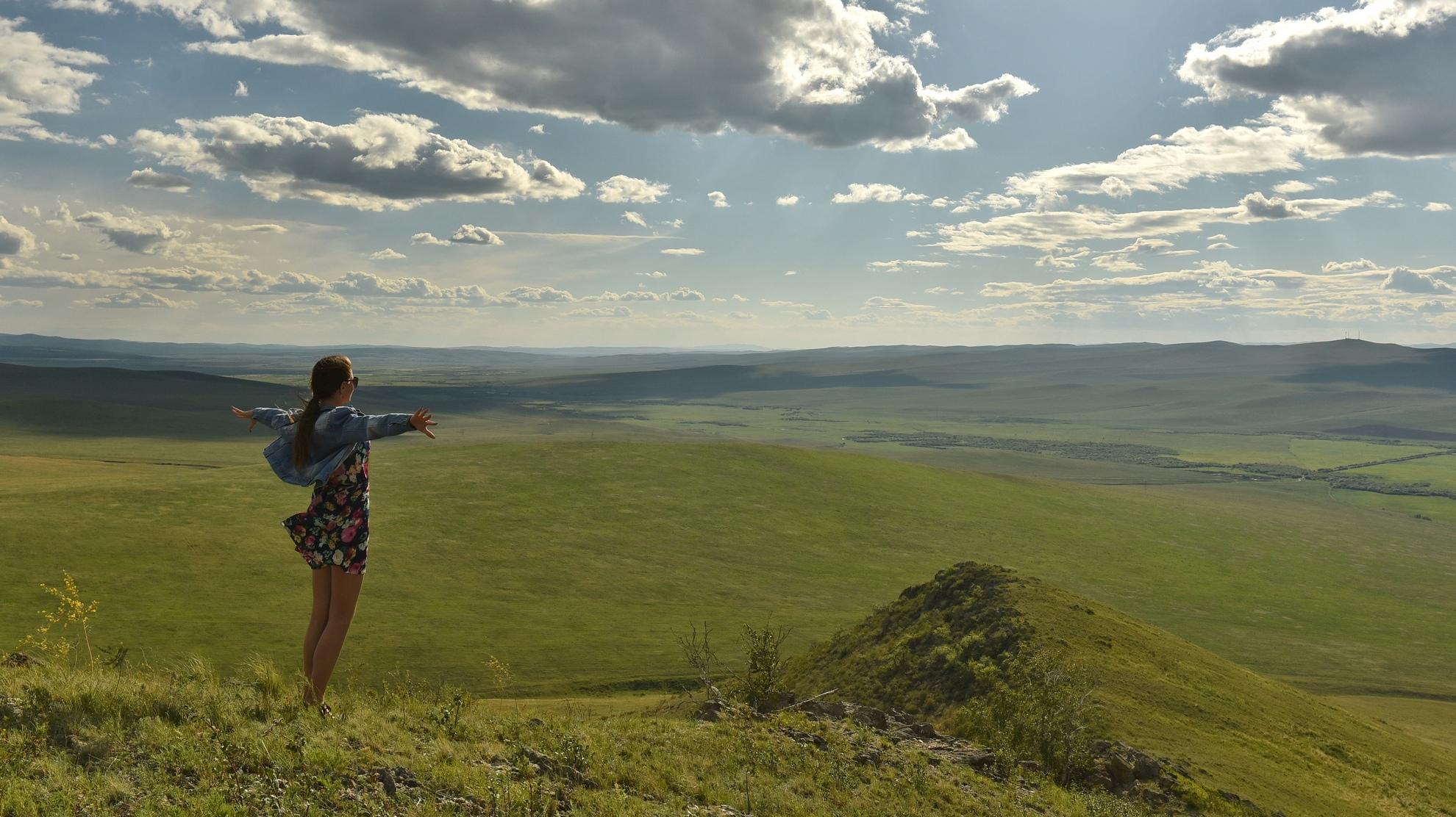 Просторная и свежая Тугнуйская долина