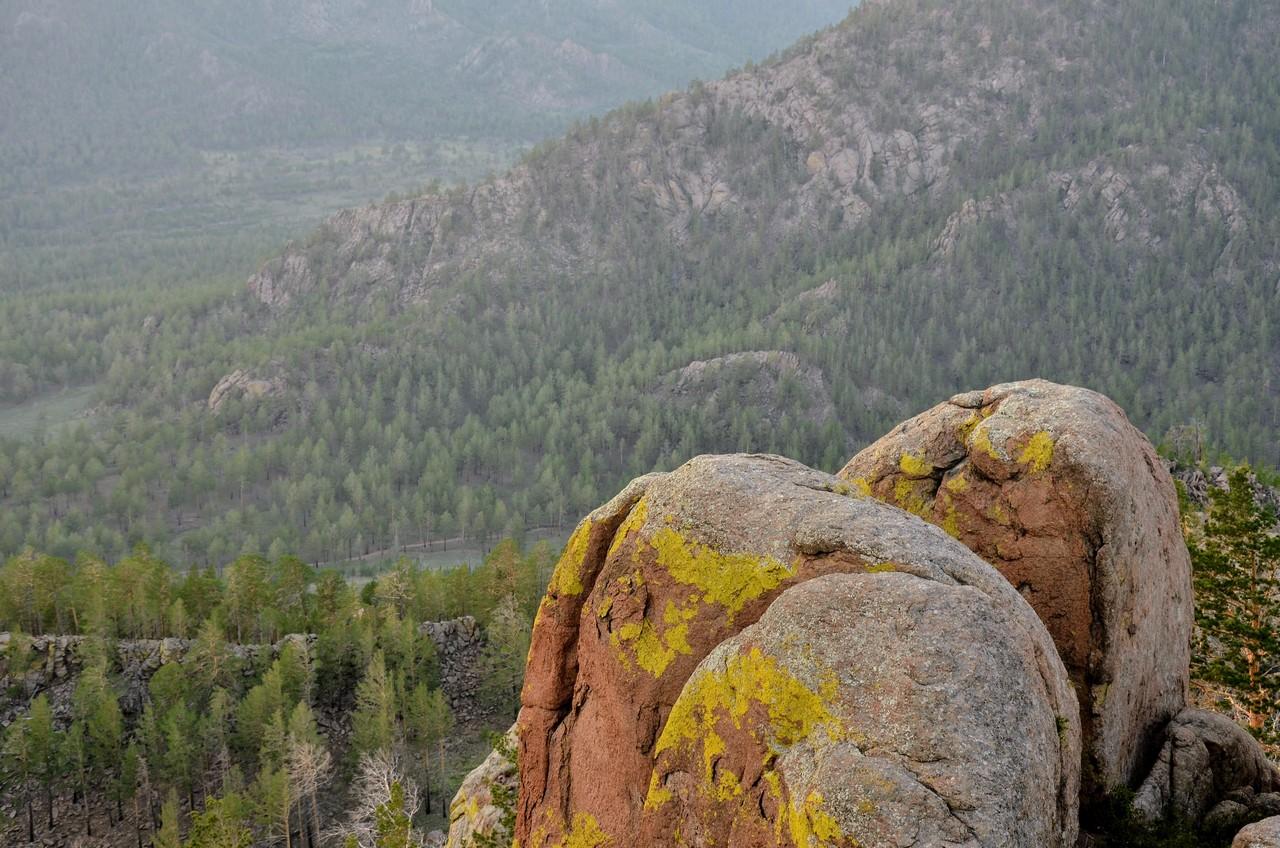 Тугнуйские столбы. Гудящие камни