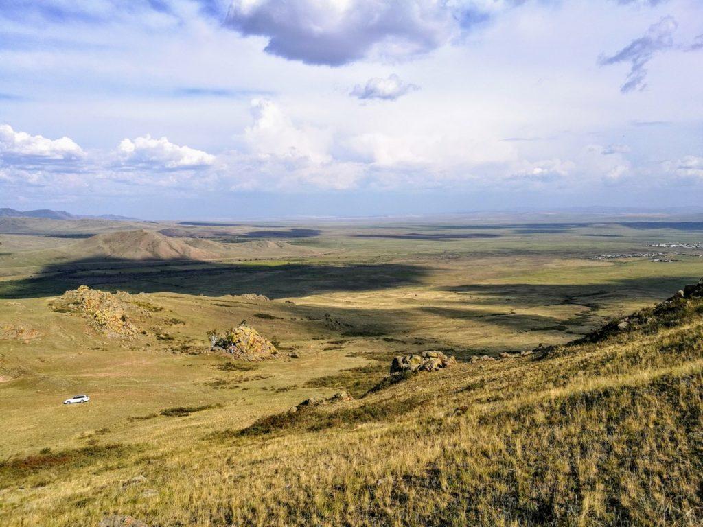Вид на Галтай вблизи Юрты Чингисхана