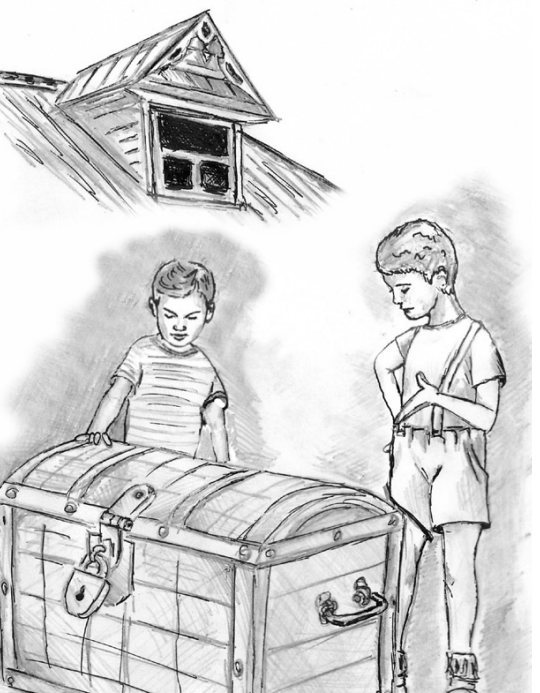 """Книга Ильи Миронова """"От чистого истока..."""" Рассказ """"Тайна вышки"""""""